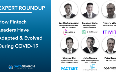Expert Roundup – How Fintech Sales Leaders Have Adapted & Evolved During COVID-19
